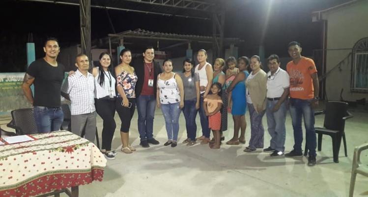 ASAMBLEA COMUNITARIA Y ELECCIÓN Y POSESIÓN DEL COMITE DEL SITIO SAN JOAQUIN